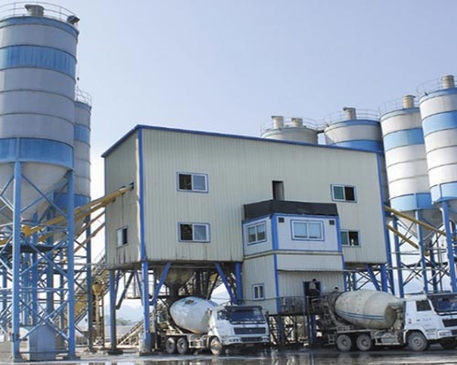 engineering concrete mixing plant manuafcturer