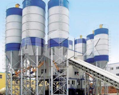 engineering concrete mixing plant