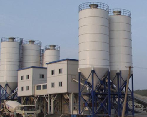 engineering concrete mixing plant