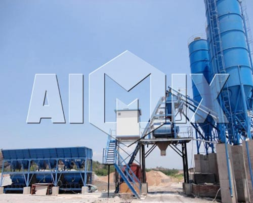 engineering concrete mixing plant manufacturer