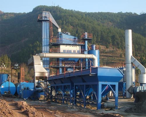 asphalt production plant