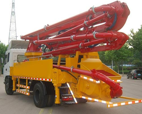 boom concrete pump