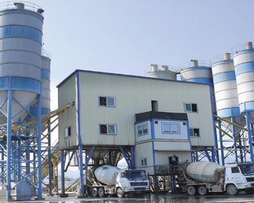 commercial concrete plant manuafcturer
