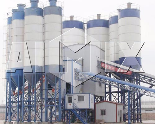 commercial batching plant