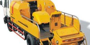 Aimix concrete pump truck