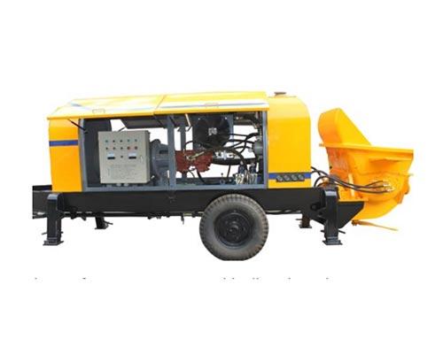diesel engine concrete pump