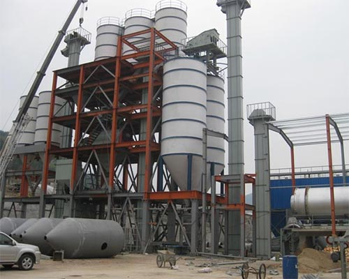 dry mortar batching plant