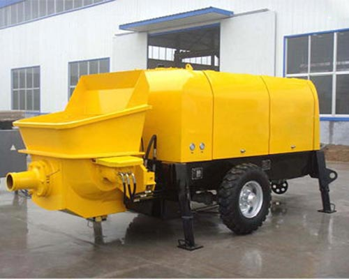 electric concrete pump