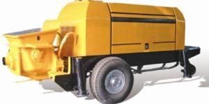 Aimix concrete trailer pump