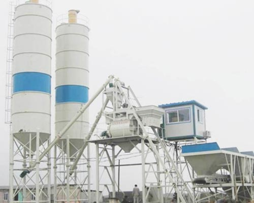 engineering concrete mixing plant for sale