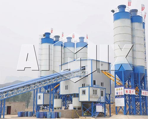 engineering concrete batching plant
