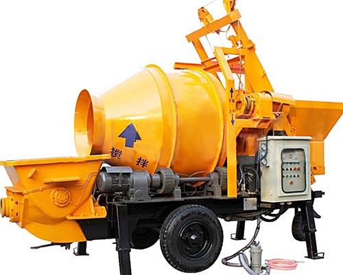 concrete pump mixer