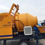 Concrete Pump with Mixer for Sale