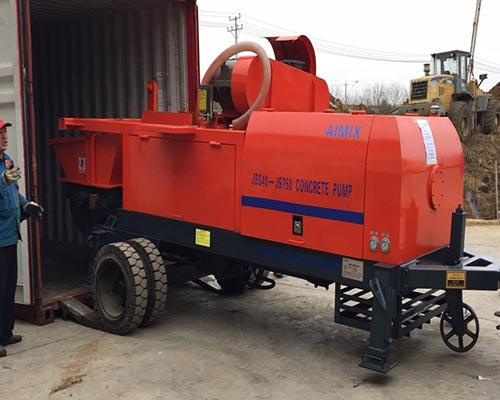 concrete mixer pump supplier