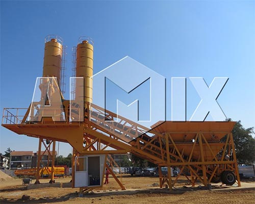 Mini Batching Plant : Mini concrete batch plant for sale aimix machinery supplier