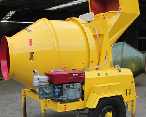 diesel engine concrete mixers
