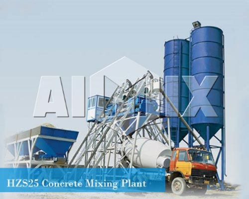 wet batch concrete plant