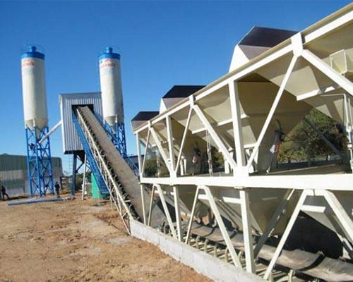 wet mix concrete batch plant