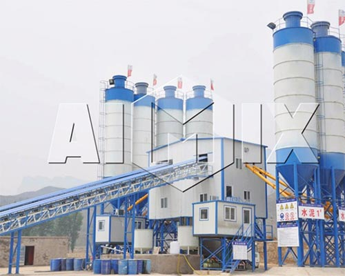 The difference between commercial concrete mixing plant and engineering concrete batching plant