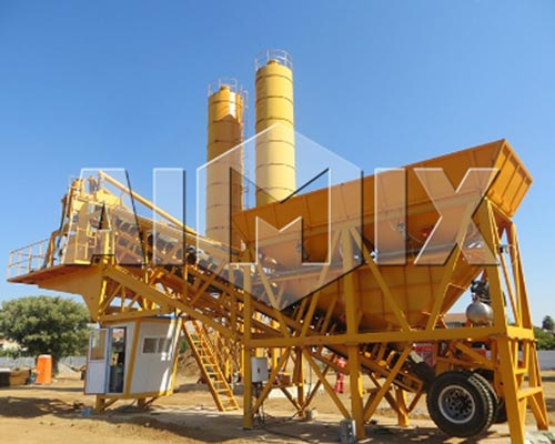 Mini Concrete Batch Plant Cube : Features of small concrete plant aimix cement