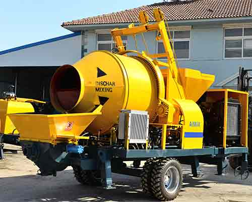 hot sale concrete pump equipment