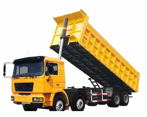 Hot sale dump truck in Aimix