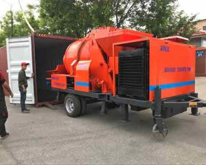 concrete pump with low price