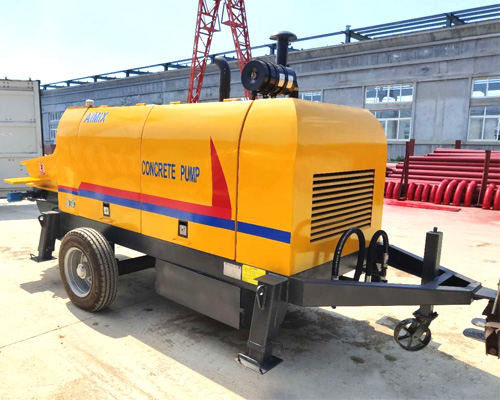 high level concrete pumps