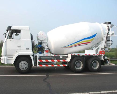 mixer truck equipment