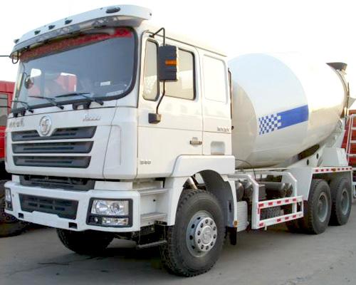 Concrete transit mixer trucks