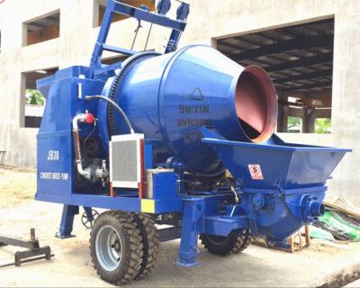concrete mixer pumps