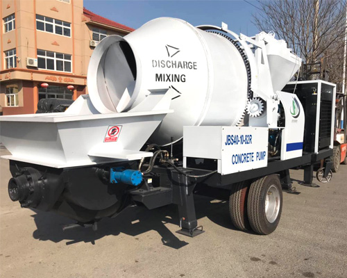 purchase our concrete mixer pump
