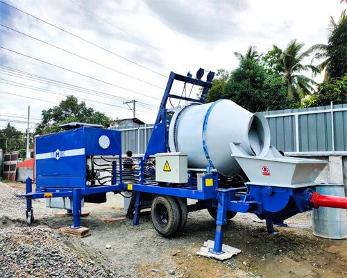 best concrete mixer pump