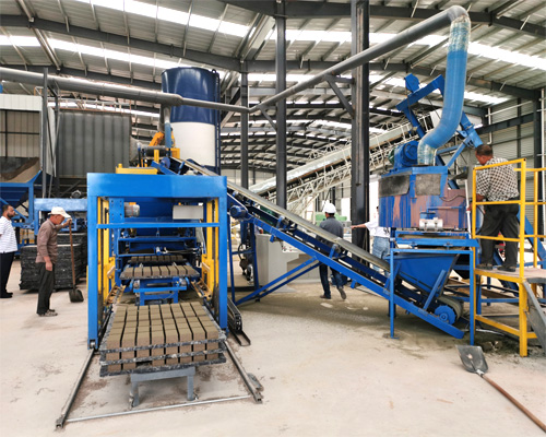 high level fly ash brick machines