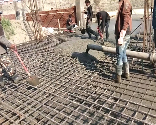Aimix concrete pumps