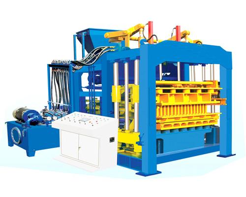 hollow block maker machine