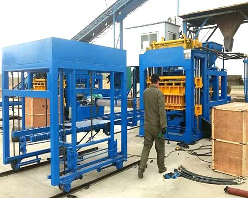 high level hollow block making machines