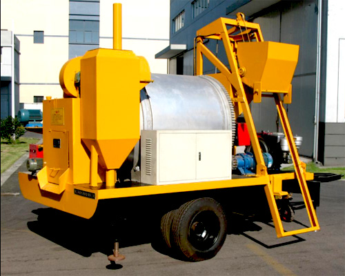 high level portable asphalt machine