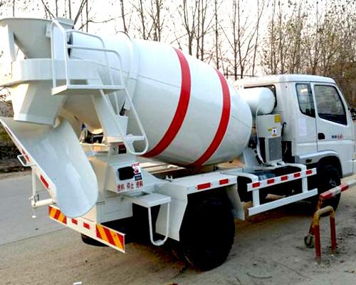 concrete transport machine