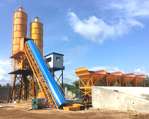 belt type concrete plant manufacturer