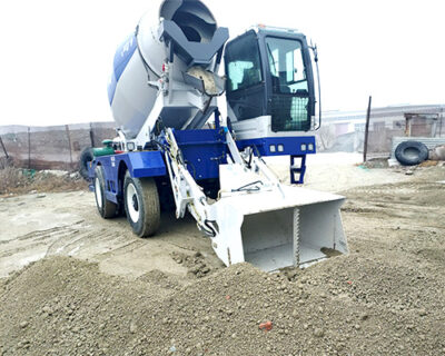 aimix self loader concrete mixer machine