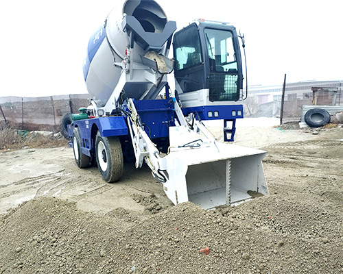 aimix self loader concrete mixer machine