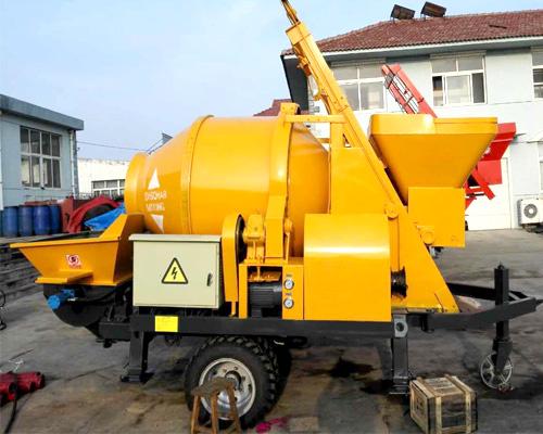best concrete mixer pump