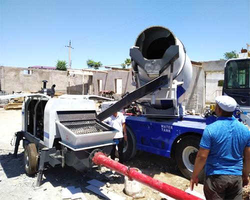 cheap self loader concrete mixer