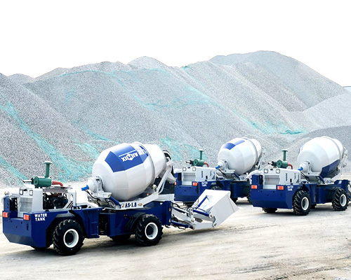 best self loading mixer truck