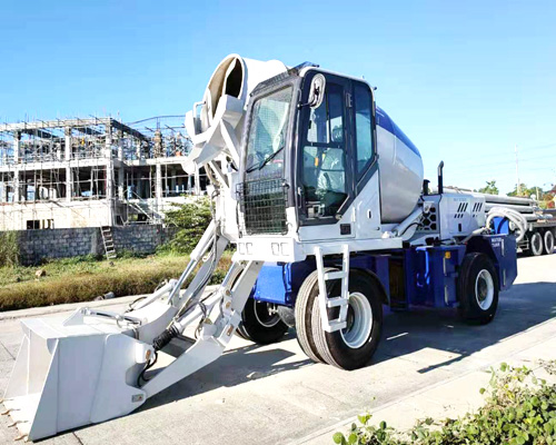 self loading concrete mixing truck for sale