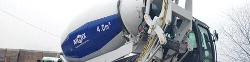 aimix group self loading concrete mixer truck