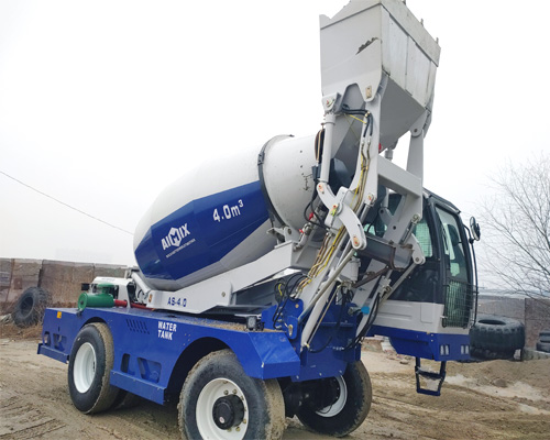 aimix group self loading concrete mixer truck