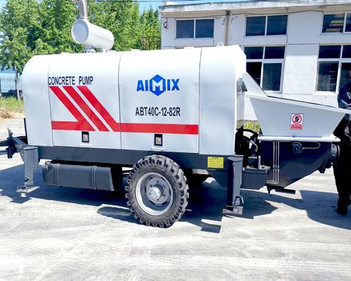 Aimix concrete pump