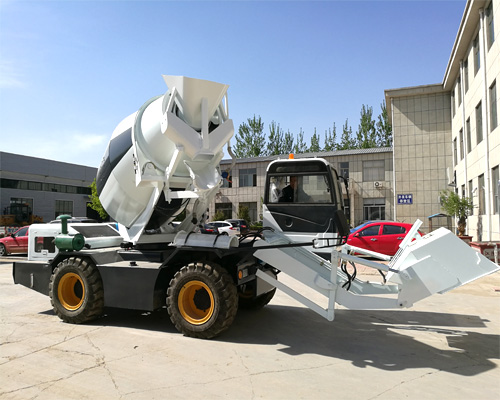 self loading concrete mixer trucks